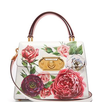 Welcome doorbell floral-print leather bag | Dolce & Gabbana | MATCHESFASHION.COM US