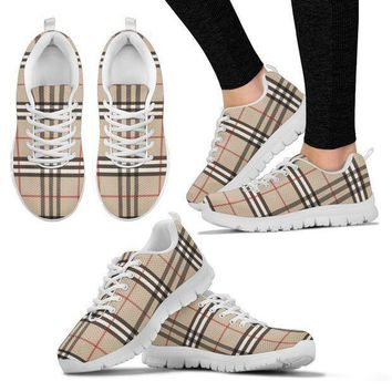 Women's Sneakers Inspired By Burberry