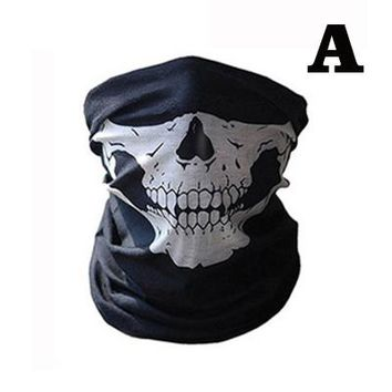 14 Styles Motorcycle Skull Ghost Face Windproof Mask Beanie Hat Outdoor Sports Warm Ski Mask Caps Bicycle Bike Bonnet Scarf Man