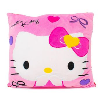 Pink Hello Kitty Plush Napping Pillow, 14-Inches