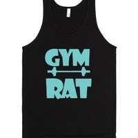 Gym Rat Tank Top-Unisex Black Tank
