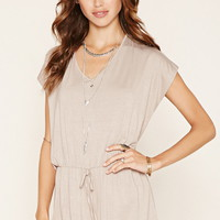 V-Cutout-Back Romper
