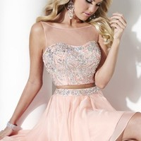 Layered Two Piece Mini Dress by Hannah S
