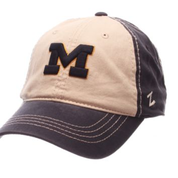 Michigan Wolverines Sigma Adjustable Hat By Zephyr