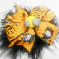 Hello Kitty Halloween Hairbow