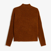 Monki | View all new | Nubby knit sweater