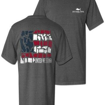 United We Stand in Grey Comfort Colors™- CLOSEOUT