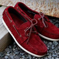 Sebago Mohican Red | 7 Shoes | Ronnie Fieg x Sebago