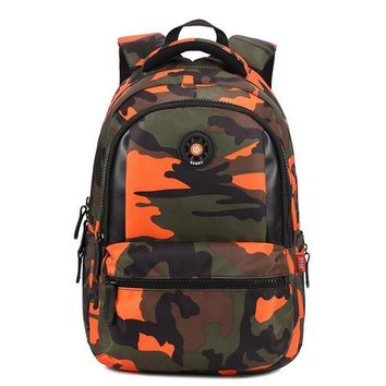 3d10f26a8e Ecoparty students backpack school bags camo kids school satchel