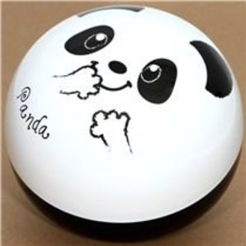 big round panda bear Bento Box lacquer lunch box - Bentos - Bento Boxes