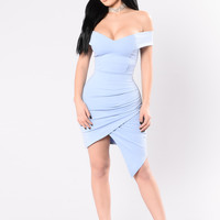 Secret Moments Dress - Blue