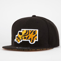 Trukfit Modern Classic Mens Strapback Hat Black/Leopard One Size For Men 20949710001
