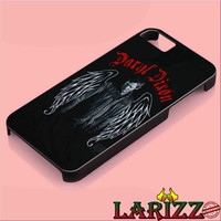 """The Walking Dead Daryl Dixon Wing for iphone 4/4s/5/5s/5c/6/6+, Samsung S3/S4/S5/S6, iPad 2/3/4/Air/Mini, iPod 4/5, Samsung Note 3/4 Case """"007"""""""