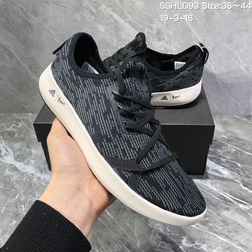 DCCK2 A952 Adidas Terrex 2019 Outdoor cross country quick dry breathable sport wading shoes Black Gray