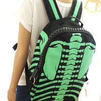 Fashion Punk Style Cool Skull Backpack