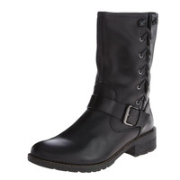 Sofft Acasia Black Leather Boots