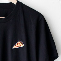 Pizza Tee - Black