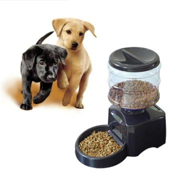 LCD Screen Large Smart Dogs Food Bowl