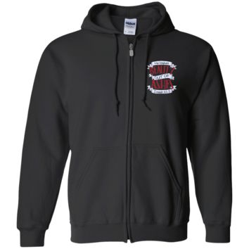 He Makes Beauty Out Of Ashes Zip Up Hooded Sweatshirt