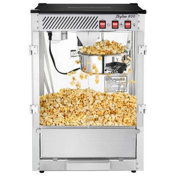 Great Northern Popcorn 8 OZ Ounce Bar Style Popcorn Popper Machine Commercial