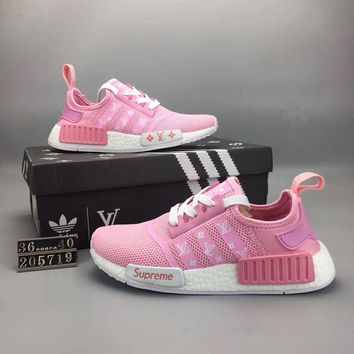 """""""Adidas NMD Runner Pk"""" Women Sport Casual Breathable Sneakers Light Running Shoes"""