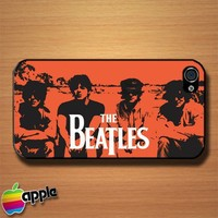 The Beatles Wew Can Work It Out Custom iPhone 4 or 4S Case Cover