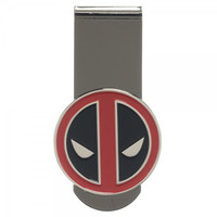 Deadpool Metal Badge Money Clip