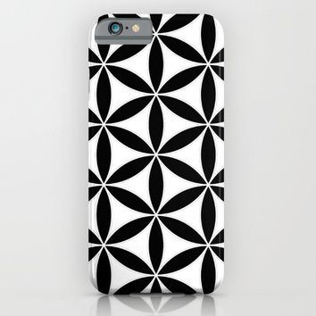 Pure Energy The Flower of Life  iPhone & iPod Case by Azima