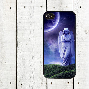 Moonlight Angel iPhone case- for iphone 4,4s & iphone 5 - Cemetery Angel