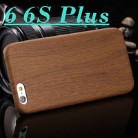 Wood Pattern Back Phone Case For iPhone 6 6s / 6 6s