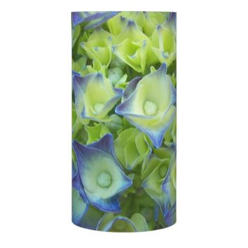Hydrangea Buds Floral Photo Flameless Candle