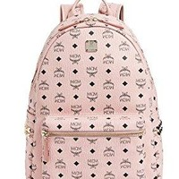 MCM Women's Medium Side Stark Backpack