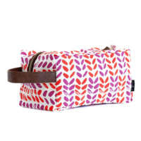 Leaves Canvas Travel Case
