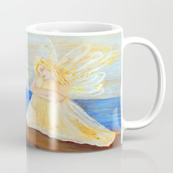 Invite your Angel | Angels are here Mug by Azima