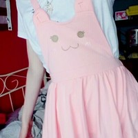 Kitty Cat Paws Sweet Suspender Dress
