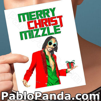 Holiday Cards | Hip Hop | Snoop Lion Snoop Dogg Christmas Card Boyfriend Christmas Boyfriend Girlfriend Card Boyfriend Card Boyfriend Gift