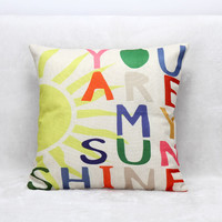 Sofa Cushion Hot Sale Linen Home Cushion Cover [7992919681]