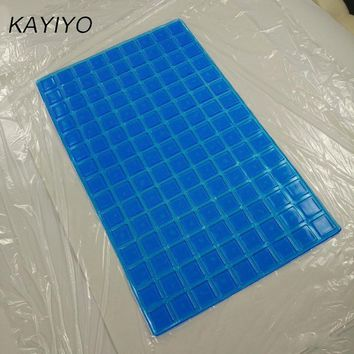 KAYIYO 55X33X0.5 CM Cooling Gel Pillow Ice Pad Massager Therapy Sleeping Aid Insert Chillow Pad Mat Muscle Relief Summer Pillow