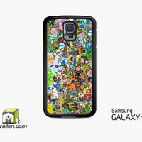 Adventure Time All Characters Samsung Galaxy Case S3, S4, S5 by Avallen