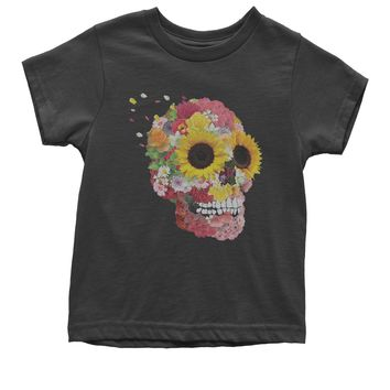 Sunflower Skull Youth T-shirt