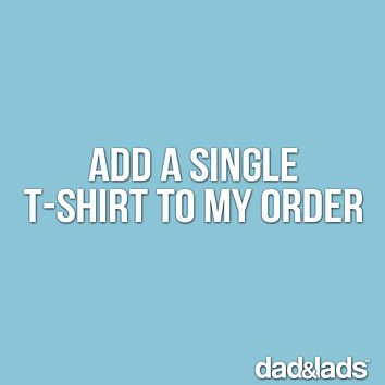 Add a single t-shirt to your order