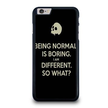 NORMAL IS BORING QUOTES iPhone 6 / 6S Plus Case Cover