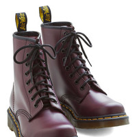 Dr. Martens Vintage Inspired Playing Air Guitar Boot in Plum