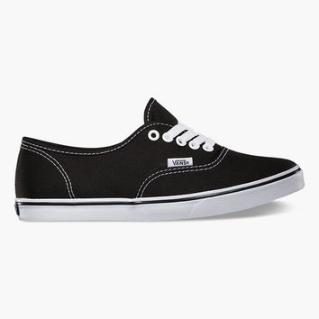 Vans Authentic Lo Pro Womens Shoes Black  In Sizes