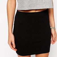 ASOS Mini Skirt in Jersey