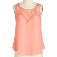 ModCloth Mid-length Sleeveless Mixology Whiz Top