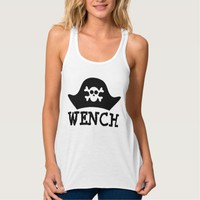 SEXY WENCH PIRATE LADIES T-SHIRTS