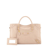 Giant 12 Golden City Bag, Blush - Balenciaga