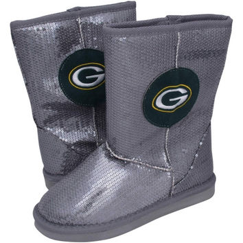 Green Bay Packers Ladies High-End Sequin Boots
