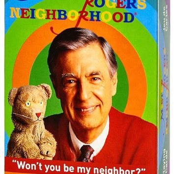Mister Rogers Playing Cards